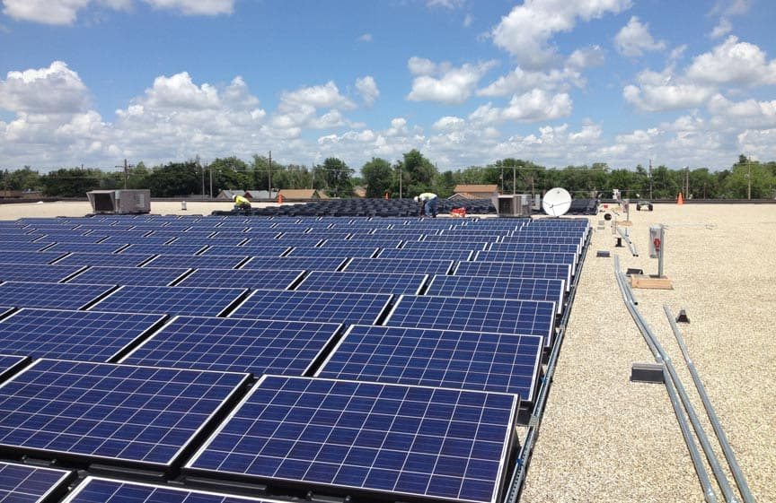 Largest Privately Owned Solar Array in Kansas