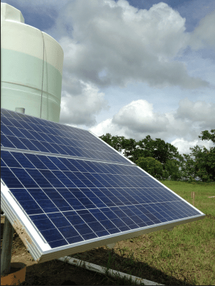 """Add """"Solar Powered Water Pump for Agriculture"""" to the Top 10 List of Solar Energy Use."""