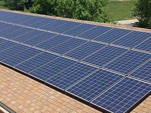 Rooftop Solar at United Methodist Church in Kansas City, Missouri