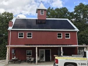 SunPower Residential Home Solar Array in Wright City, Missouri