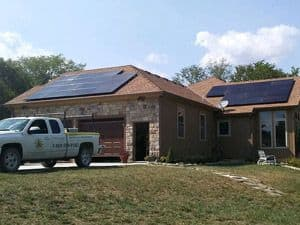 SunPower Residential Home Solar Array in Gardner, Kansas