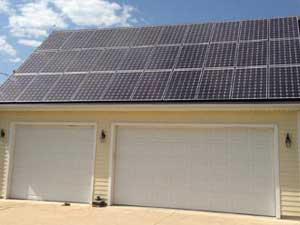 8.4kW Residential Home Photovoltaic System* Installation in Kansas